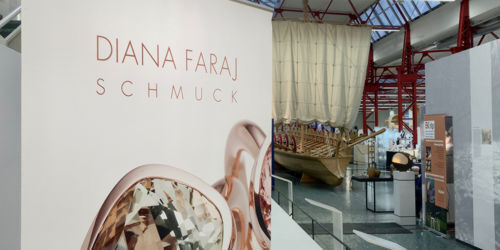 Diana Faraj Schmuck - Exhibition - design + gestaltung - Museum of Ancient Navigation - Mainz